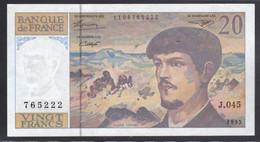 FRANCIA  1980-97  20 Fr  FDS - 1962-1997 ''Francs''
