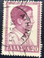 Greece - Griekenland - P3/21 - (°)used - 1956 - Michel 638 - Griekse Koningen En Koninginnen - Athenai - Gebraucht