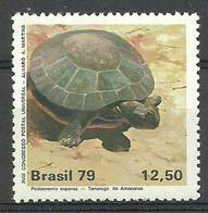 Brazil 1979 Mi 1711 MNH ( LZS3 BRZ1711 ) - Tartarughe