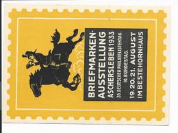 DR PP 126 C 2 ** -  5 Pf  Hindenburg Med. Aschersleben 1933, Bfm-Ausstellung - Postwaardestukken