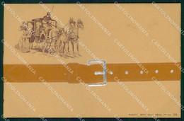 Cavallo Carrozza Cheval Horse Pferd Relief Mary Mill 126 Cartolina KF6261 - Pferde