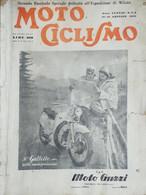 Rivista - Motociclismo N. 3 / 4 Gennaio 1952 Il Galletto Nella Nuova Produzione - Non Classés