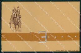 Cavallo Carrozza Cheval Horse Pferd Relief Mary Mill 126 Cartolina KF6264 - Pferde