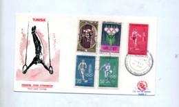 Lettre Fdc  1960 Sport - Tunisia