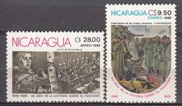 Nicaragua  1985  WO II  Michel 2542-43  MNH 28401 - Nicaragua