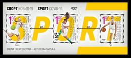 Bosnia And Hercegovina (Republic Of Srpska) 2020: Sport (tennis, Football, Basketball); Minisheet (MNH) - Sin Clasificación