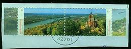 BUND  -- Siebengebirge Von 2020 , Zusammendruck Gestempelt - Gebraucht