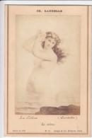 PHOTOGRAPHIE ORIGINALE Cartonnée - Carte Album N°13 LA SIRENE De CH. LANDELLE Salon De 1879 - Goupil Et Cie Edit. Paris - Fotos