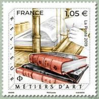 Timbre Neuf** MNH France 2019 : Métiers D'art, Relieur De Livres - Unused Stamps