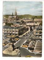 NANCY (54) - La Place Stanislas - Arc De Triomphe Et Eglise St Epvre - Nancy