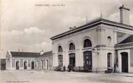 CPA Angoulême, Gare De L'Etat - Angouleme