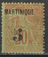 Martinique N° 1 * - Nuovi