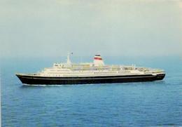 Schiff / Ship / Bateau / Balic Shipping Company / M/S Alexandr Pushkin (D-KW128) - Steamers