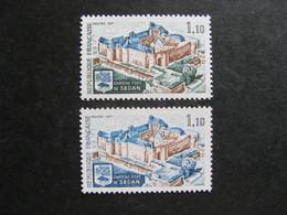 TB N° 1686 Avec Sol Et Inscriptions Bleus Au Lieu De Vert + Normal , Neufs XX ? - Curiosa: 1970-79 Postfris