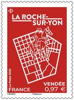 Timbre Neuf** MNH France 2020 : La Roche Sur Yon - Unused Stamps