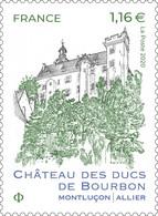 Timbre Neuf** MNH France 2020 : Château Des Ducs De Bourbon - Unused Stamps