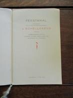 Ere -- Directeur Generaal J .  SCHELLEKENS  --Verbroedering AMBTENAREN  Registratie En Domeinen   ANTWERPEN 1948 - Anuncios