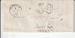 Carentan  08 B07 1857 A Saint Lo - 1849-1876: Classic Period