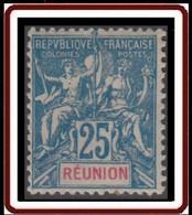 Réunion 1892-1901 - N° 49 (YT) N° 49 (AM) Neuf *. - Nuevos