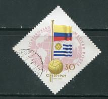 HONGRIE- Y&T N°1505- Oblitéré - 1962 – Chili
