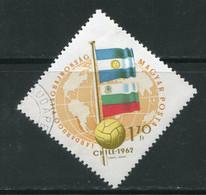 HONGRIE- Y&T N°1509- Oblitéré - 1962 – Chili