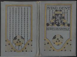 TROUWBOEKJE * GENT * ARTHUR MARTENS - JOSEPHINA VERSPEEL * 1928 * ZIE SCANS - Unclassified