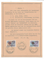 Luxembourg - Luxemburg  -  Timbres FDC 1967  EUROPA  -  Format 17x 21,50 - Blocs & Hojas