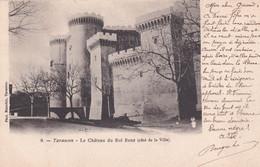 13  Tarascon Le Chateau Du Roi Rene Cote De La Ville - Tarascon
