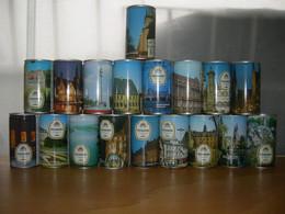 Set 18 Lattine Di Birra Pilskrone Beer Cans Bierdosen Boite Biere Germny  Germania Around 30 Years Old - Dosen