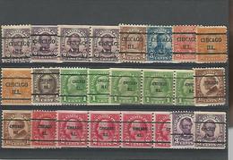 37043 ) USA Precancel Collection - Vorausentwertungen