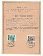 Luxembourg - Luxemburg  -  Timbres  1965  EUROPA -  Format 17x 21,50 - Blocs & Hojas