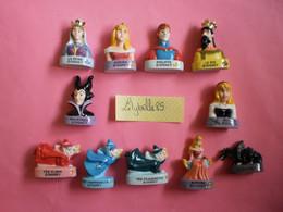 Série Complète De 11 Feves Disney Tirage Limité - LA BELLE AU BOIS DORMANT 2013 ( Figurine Miniature Feve ) Rare - Disney