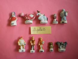 Série Complète De 10 Feves Disney En Porcelaine - MERLIN L' ENCHANTEUR 2003 ( Figurine Miniature Feve ) - Disney