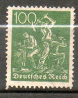ALLEMAGNE  Mineurs 1922 N° 170 - Neufs