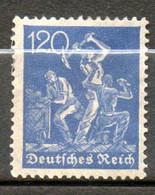 ALLEMAGNE  Mineurs 1922 N° 171 - Neufs