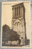 85 Challans 1937 Clocher Ancienne Eglise - Challans