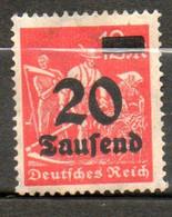 ALLEMAGNE  Agriculteurs 1923 N° 256 - Neufs