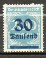 ALLEMAGNE  30t Sur 200m 1923 N° 261 - Neufs