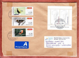 Grossbrief, Block Margrethe U.a., Tilst Nach Leonberg 2014 (97912) - Cartas