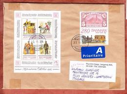 Grossbrief, Block Hafnia U.a., Tilst Nach Leonberg 2014 (97913) - Cartas
