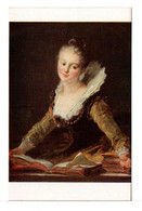 CPA - L'ÉTUDE (FRAGONNARD) - Malerei & Gemälde