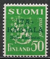 Karelia 1941. Scott #N8 (M) Arms Of The Republic - Local & Private