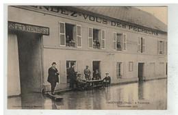 60 GOUVIEUX #16406 A. TOUTEVOYE INONDATIONS 1910 AU RENDEZ VOUS DES PECHEURS - Gouvieux