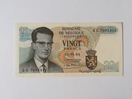 BELGIO 20 FRANCHI 1964 - 20 Francos