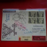 LETTRE TAIWAN TAIPEI POUR RIEHEN SUISSE CACHET UNCLAIMED - Briefe U. Dokumente