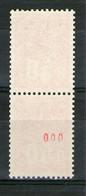Paire Roulette 1664a**-1664c**_N° Rouge Triple Zéro_voir Scans_cote 26.25++ - 1971-76 Marianna Di Béquet