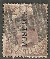 Natal 1873. 1sh Purple-brown. SACC 68, SG 63. - Natal (1857-1909)
