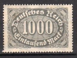 Allemagne Empire Neuf Charnière Point De Rouille N°187 Lot 102 - Neufs