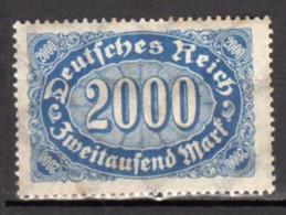 Allemagne Empire Neuf Charnière Point De Rouille N°188 Lot 103 - Neufs