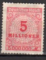 Allemagne Empire Neuf Avec Charnière N°298 Lot 125 - Neufs